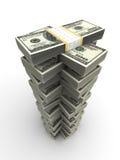 Torre do dólar Fotos de Stock Royalty Free