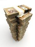 Torre do dólar canadense Fotos de Stock Royalty Free