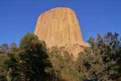 Torre do diabo Imagem de Stock