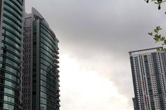 Torre do escritório da construção Imagens de Stock Royalty Free