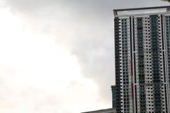 Torre do escritório da construção Fotografia de Stock Royalty Free