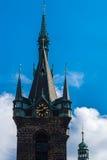 A torre do gothik na Praga Fotografia de Stock