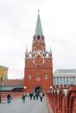 Torre do Kremlin de Moscovo Local do património mundial do Unesco Fotos de Stock