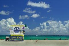 Torre do Lifeguard Fotos de Stock