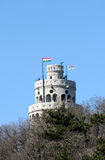 Torre do look-out dos montes de Janos Fotos de Stock