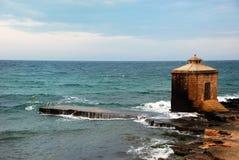 Torre do mar Imagens de Stock Royalty Free