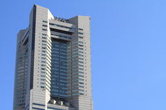 Torre do marco de Yokohama Fotografia de Stock