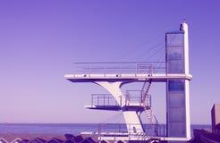 Torre do mergulho Fotos de Stock Royalty Free