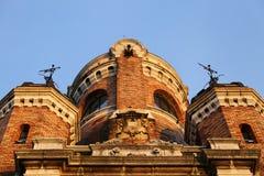 Torre do milênio na cidade velha Zemun, parte de Belgrado, Sérvia Fotografia de Stock Royalty Free