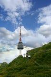 Torre do obervatório de Namsan Foto de Stock