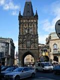 Torre do pó em Praga Imagens de Stock Royalty Free