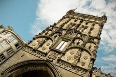 Torre do pó em Praga Foto de Stock Royalty Free