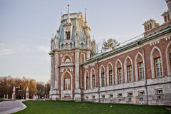 Torre do palácio de Tsaritsyno Fotografia de Stock Royalty Free
