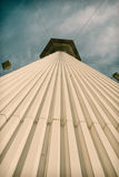 Torre do parque de diversões fotos de stock