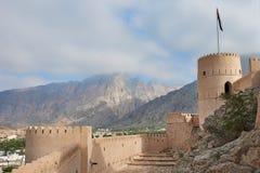 Torre do relógio de um forte Fotos de Stock Royalty Free