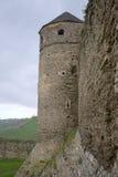 Torre do relógio sob a chuva Foto de Stock Royalty Free