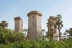 Torre do rio imagem de stock