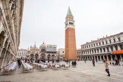 Torre do ` s de St Mark fotos de stock