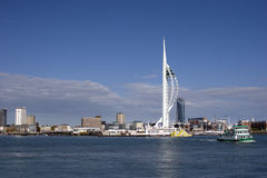 Torre do Spinnaker de Portsmouth Fotografia de Stock Royalty Free