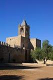 Torre do sustento do castelo, Antequera, Spain. fotografia de stock royalty free