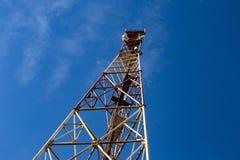 Torre do telefone celular fotografia de stock royalty free