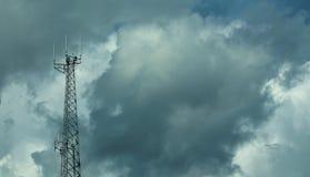 Torre do telefone celular Imagens de Stock