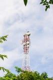 Torre do telefone celular fotos de stock royalty free