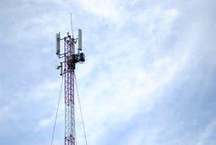 Torre do telefone de pilha Imagem de Stock Royalty Free