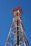 Torre do telefone móvel Imagens de Stock