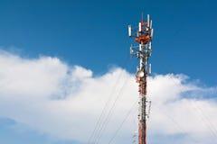 Torre do telemóvel imagem de stock
