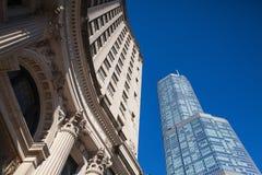 A torre do trunfo em Chicago. Foto de Stock