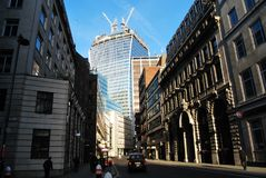 Torre do Walkietalkie da rua de 20 Fenchurch Fotografia de Stock