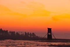 Torre dos caçadores Imagens de Stock Royalty Free