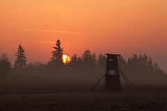 Torre dos caçadores Fotos de Stock