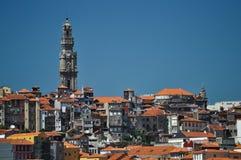 Torre Dos Clerigos, Oporto Foto de archivo