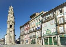 Torre dos clerigos porto portugal Stock Images