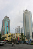 Torre dos comerciantes de China em Shen zhen Imagem de Stock