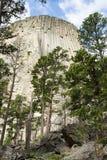 Torre dos diabos Fotografia de Stock