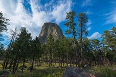 Torre dos diabos de baixo de Fotos de Stock Royalty Free