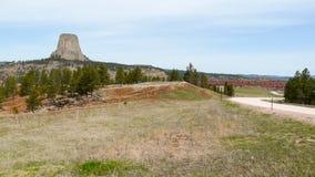 Torre dos diabos em Wyoming Imagens de Stock