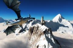 Torre dos dragões Imagens de Stock Royalty Free