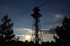 Torre dos paramilitares Fotos de Stock Royalty Free