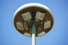 Torre dos projetores Fotografia de Stock Royalty Free