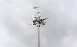 Torre dos projetores Fotografia de Stock