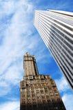 Torre due Fotografie Stock