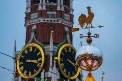 Torre e aleta de Spassky Imagem de Stock Royalty Free