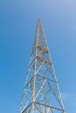 Torre e antena de rádio Imagem de Stock