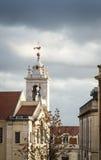 Torre e campane di chiesa Fotografie Stock Libere da Diritti