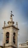 Torre e campane di chiesa Immagine Stock Libera da Diritti