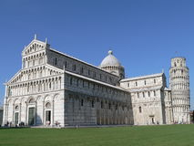 Torre e catedral Fotos de Stock
